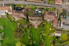 Aerial site view for survey