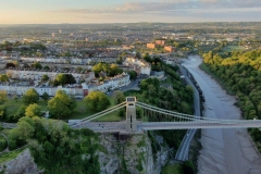 Suspension Bridge Clifton at dawn