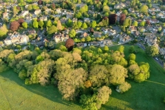 Aerial view of Sneyd Park