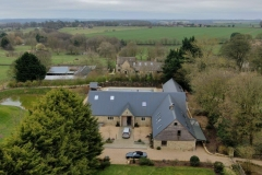 Aerial view of cotswold property (2)